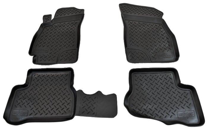 Комплект ковриков NorPlast NPL-Po-31-03 Hyundai Accent 4 шт. — купить по выгодной цене на Яндекс.Маркете