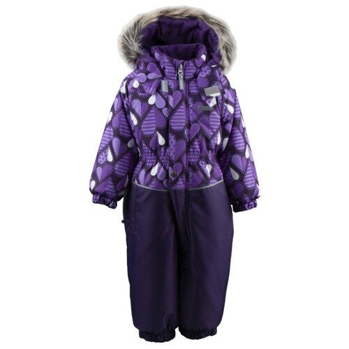 Купить Комбинезон KERRY DORA K19419A размер 86, 03600 темно-синий/фиолетовый, Теплые комбинезоны