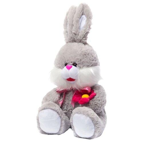 Мягкая игрушка Нижегородская игрушка Зайчик с цветком 61 см игрушка chuc юла