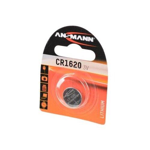 Батарейка ANSMANN CR1620 1 шт блистер батарейка ansmann cr2025 1 шт блистер
