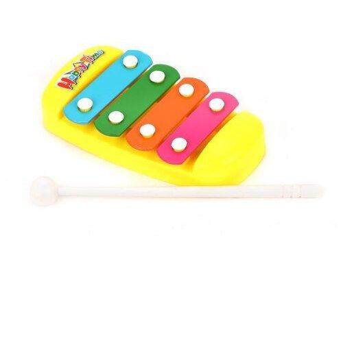 Купить Shantou Gepai ксилофон 200329410 желтый, Детские музыкальные инструменты