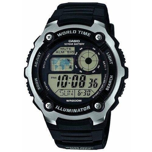 Наручные часы CASIO AE-2100W-1A casio часы casio ae 2100w 4a коллекция digital