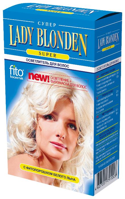 Fito косметик Lady Blonden осветлитель для волос Super — купить по выгодной цене на Яндекс.Маркете