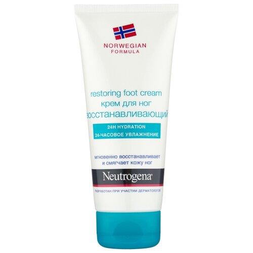 Neutrogena Крем для ног Norwegian formula Восстанавливающий 100 мл туба