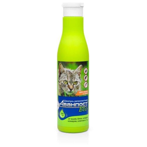 VEDA шампунь от блох и клещей Аванпост Bio репеллентный для кошек и котят недорого