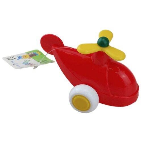 Вертолет Viking Toys 02143 7 см красный
