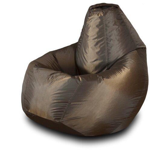 Пазитифчик кресло-груша однотонная 02 шоколад оксфорд