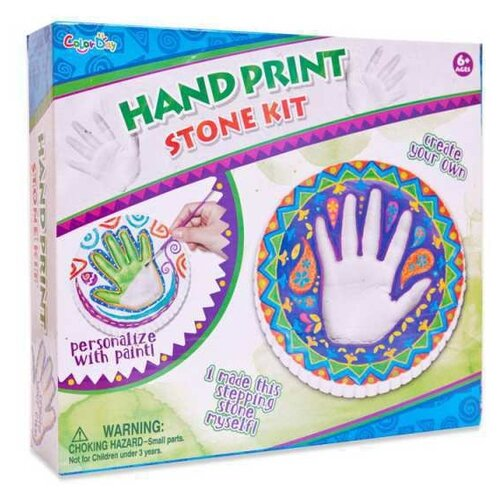 цена Junfa toys Набор для отливки барельефов Отпечаток руки (8857) онлайн в 2017 году