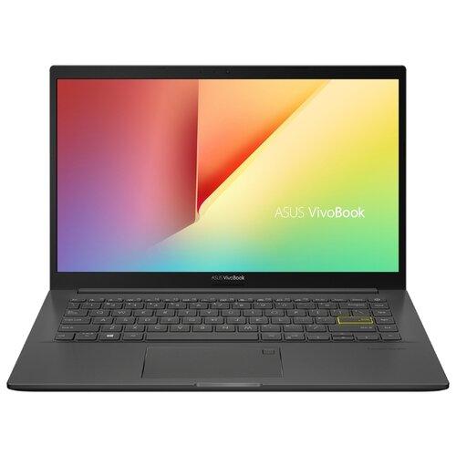 Купить Ноутбук ASUS VivoBook 14 K413FQ-EB033T (Intel Core i5 10210U 1600MHz/14 /1920x1080/8GB/512GB SSD/DVD нет/NVIDIA GeForce MX350 2GB/Wi-Fi/Bluetooth/Windows 10 Home) 90NB0R6F-M00390 Indie Black