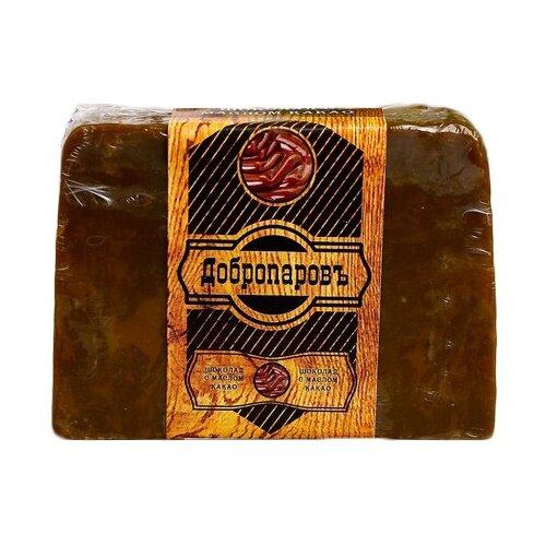 Фото - Мыло кусковое Добропаровъ Шоколад с маслом какао, 100 г мыло кусковое кедровое с льняным маслом аю дух леса 115 г