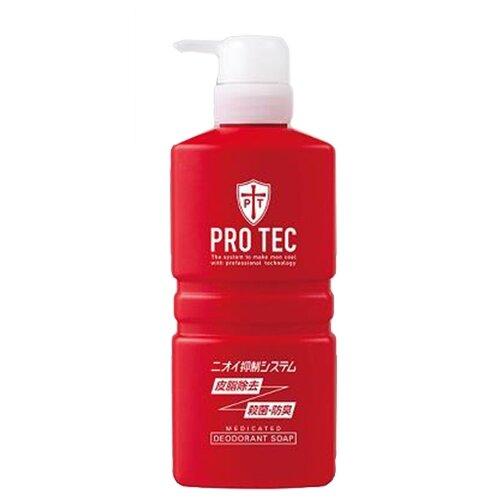 Мыло жидкое Lion PRO TEC мужское дезодорирующие с ментолом, 420 мл