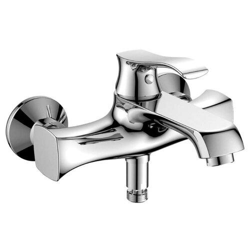 Смеситель для ванны с подключением душа BelBagno Trula TRU-VASM-CRM однорычажный смеситель для ванны belbagno bordo с механизмом bor basm crm