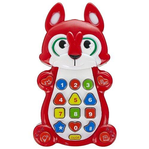 Купить Развивающая игрушка Play Smart Детский смартфон 7612 красный, Развивающие игрушки