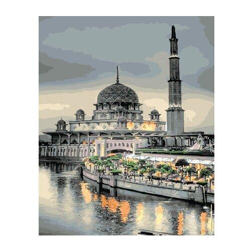 ВанГогВоМне Картина по номерам Тюльпанная мечеть, 40х50 см (ZX 21580) вангогвомне картина по номерам белые краски парижа 40х50 см zx 22059