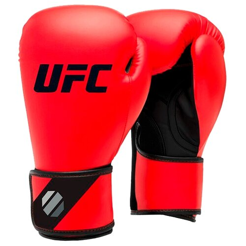 Боксерские перчатки UFC Sparring 6-16 oz красный 12 oz скамья ufc uhb 69843 черный красный