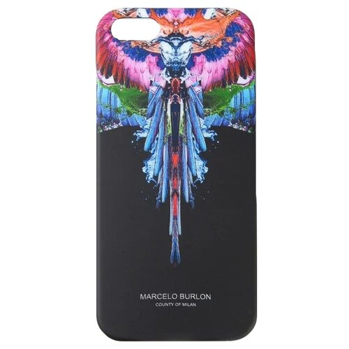 Чехол-накладка Marcelo Burlon Aslas Agua для Apple iPhone 5S Waterwings marcelo burlon чехол