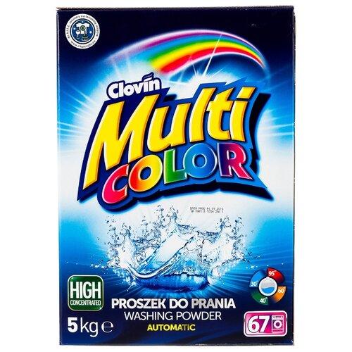 Стиральный порошок Multicolor бесфосфатный для цветного белья картонная пачка 5 кг