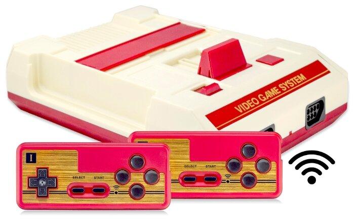 Retro Genesis 8 Bit HD Wireless + 300 игр (HDMI кабель, 2 беспроводных джойстика)