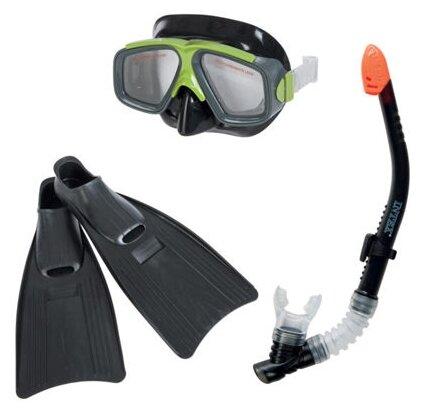 Набор для плавания с ластами Intex Surf Rider Sports размер 41-45