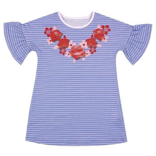 Купить Платье Апрель размер 86-48, голубой, Платья и юбки