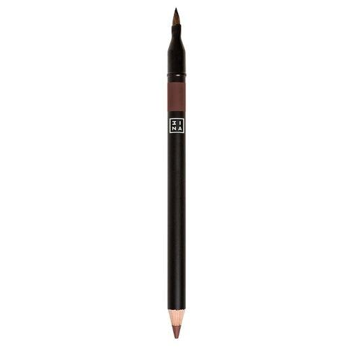 3INA Карандаш для губ с аппликатором 3INA 512 3ina карандаш для губ с аппликатором 3ina 513