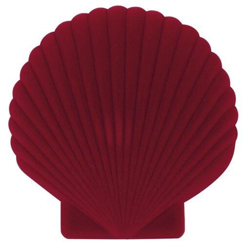 Шкатулка для украшений Doiy Shell, красная