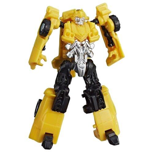 Трансформер Hasbro Transformers Бамблби (Chevrolet Camaro). Заряд энергона: Скорость (Трансформеры 6) E0760 желтый/черный hasbro войны титанов вояджер дженерейшнс трансформеры b7769 b6459