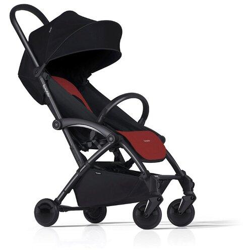 Прогулочная коляска Bumprider Connect 2 black red, цвет шасси: черный