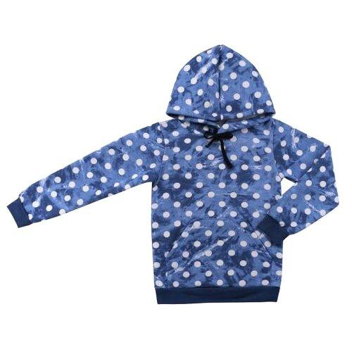 Худи ДО (Детская одежда) размер 128, Джинсовый