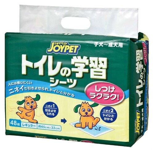 Пеленки для собак впитывающие Japan Premium Pet Joypet 45х32 см 48 шт.