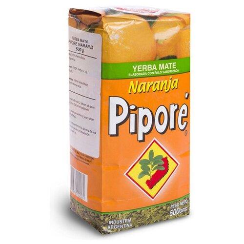Чай травяной Pipore Yerba mate Naranja , 500 г чай травяной amanda yerba mate naranja 500 г