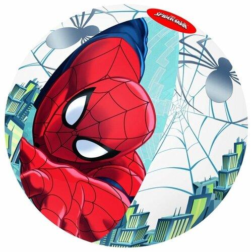 Купить Мяч пляжный Bestway Spider-Man 98002 BW разноцветный, Надувные игрушки