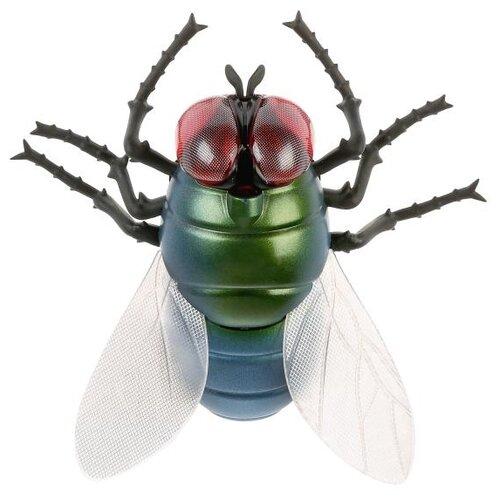 Купить Робот Jiahuifeng Муха 9921 голубой/зеленый, Роботы и трансформеры