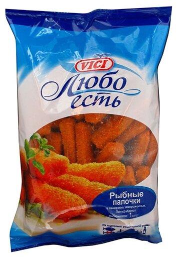 Vici Рыбные палочки замороженные пакет 1000 г