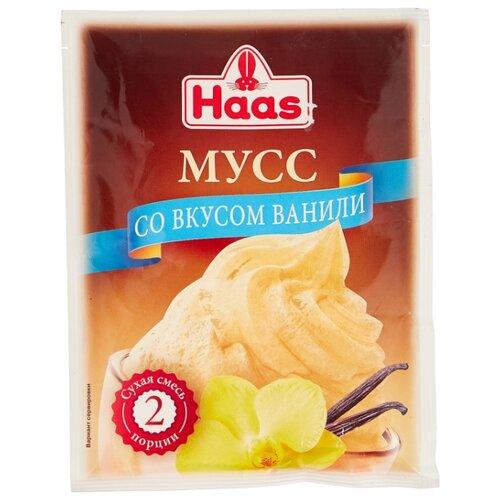 Фото - Смесь для десерта Haas Мусс ванильный 65 г смесь для десерта newa nutrition пудинг шоколадный вкус 150 г