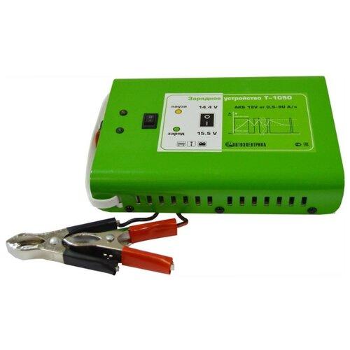 Зарядное устройство Автоэлектрика Т-1050 зеленый зарядное
