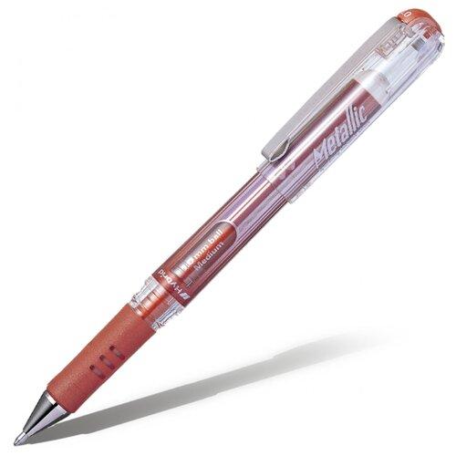 Pentel ручка гелевая Hybrid gel Grip DX 1.0 мм K230, оранжевый цвет чернил