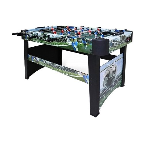 Игровой стол для футбола Start Line World game черный с рисунком