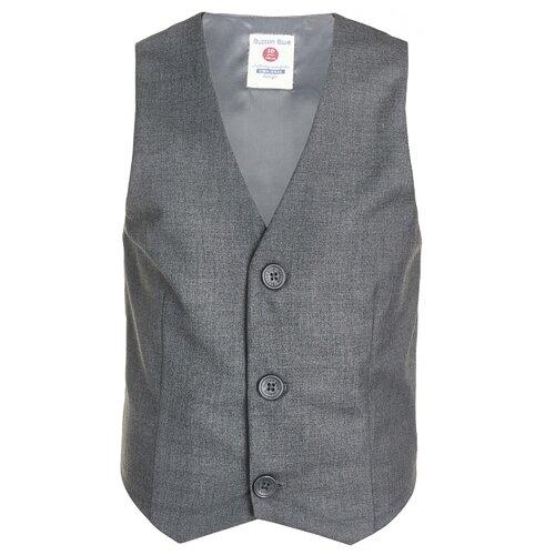 Жилет Button Blue размер 134, серый