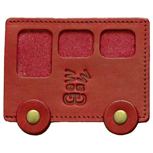 Кредитница GewGaw Автобус №24, красный