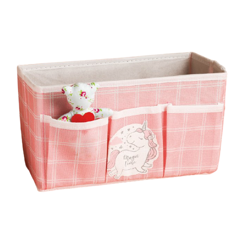 textura короб для хранения с крышкой 28 х 30 х 15 см men style Textura Короб для хранения Единорог 25 х 12 х 15 см розовый/белый