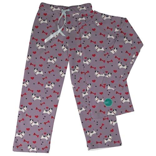 Пижама Marengo Textile размер 122, фиолетовый/белый/красный платье oodji ultra цвет красный белый 14001071 13 46148 4512s размер xs 42 170
