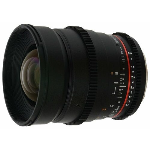 Фото - Объектив Samyang 24mm T1.5 ED AS UMC VDSLR Sony E объектив samyang 24mm t1 5 ed as umc vdslr canon ef
