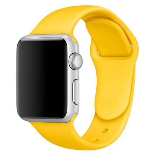 Купить CARCAM Ремешок для Apple Watch 38mm Sport Band ZN желтый