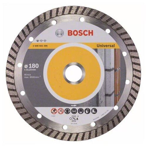 Фото - Диск алмазный отрезной BOSCH Standard for Universal Turbo 2608602396, 180 мм 1 шт. диск алмазный отрезной bosch standard for universal turbo 2608602395 150 мм 1 шт
