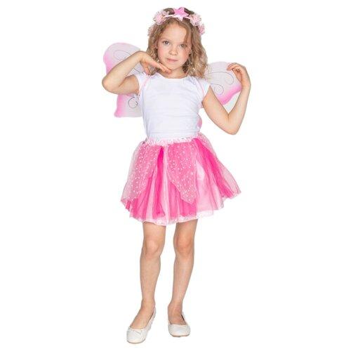 Купить Костюм ВКостюме.ру Фея (1027640), розовый, размер 119, Карнавальные костюмы