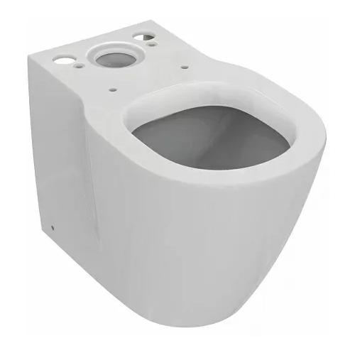 Чаша унитаза напольная Ideal STANDARD Connect Space E119601 с горизонтальным выпуском чаша унитаза напольная ideal standard tesi aquablade t007701 с горизонтальным выпуском