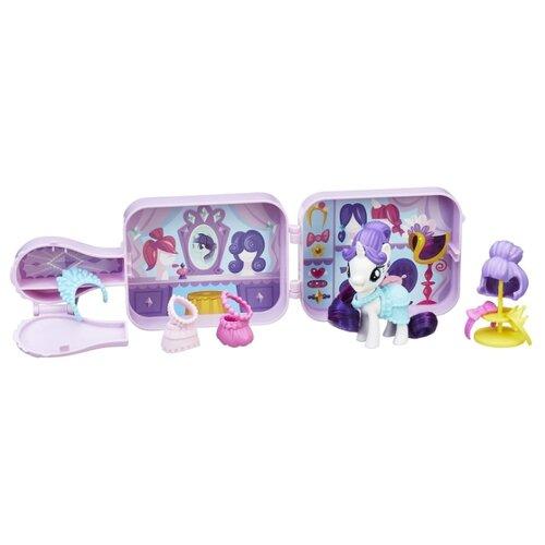 Фигурка My Little Pony My Little Pony Возьми с собой Рарити E0711 фигурка hasbro my little pony возьми с собой рарити e0711