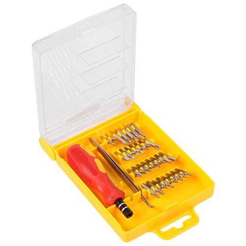 Набор инструментов для точных работ REXANT (32 предм.) 12-4701 желтый/красный набор инструментов для точных работ rexant 37 предм 12 4702 желтый красный