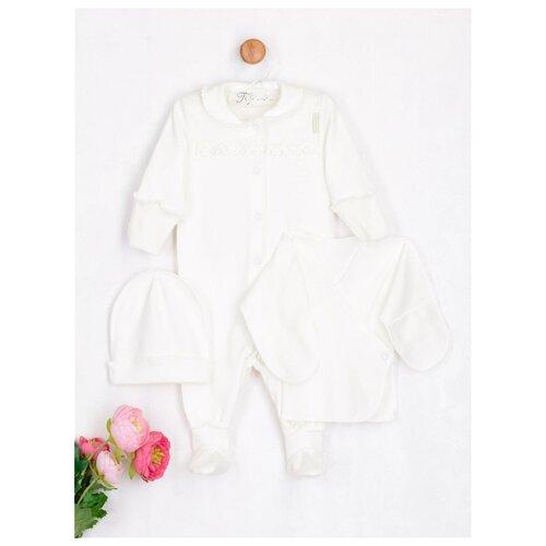 Купить Комплект одежды Трия размер 62-68, экрю, Комплекты